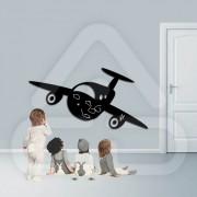 Sticker em Forma de Avião MOD00
