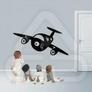 Sticker em Forma de Avião MOD02
