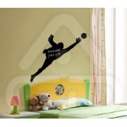 Sticker em Forma de Jogador Futebol Guarda-Redes