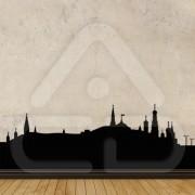 "Silhueta Vinil Autocolante Decorativo ""MOSCOVO"" 00"