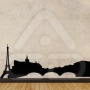 "Silhueta Vinil Autocolante Decorativo ""PARIS"" 01"