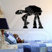 "Silhueta Vinil Autocolante Decorativo ""STAR WARS AT-AT WALKER"""
