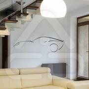 """Silhueta Vinil Autocolante Decorativo """"AUTO DESIGN"""" 02"""