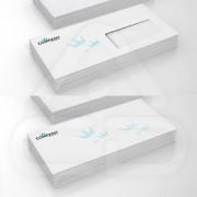 Envelopes DL 23 x 11 90gr Caixa 500 Unidades