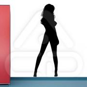 "Silhueta Vinil Autocolante Decorativo ""SEXY GIRL"" 02"