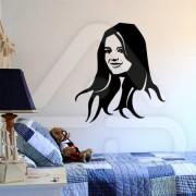 "Silhueta Vinil Autocolante Decorativo ""KATIE HOLMES"" 00"