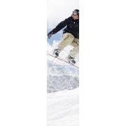 Mural Parede Vertical Snowboard Homem