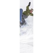Mural Parede Vertical Rapaz Snowboard