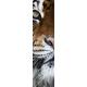 Mural Parede Vertical Meia Face Tigre