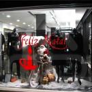 """Silhueta Vinil Autocolante Decorativo """"FELIZ NATAL"""" 01"""