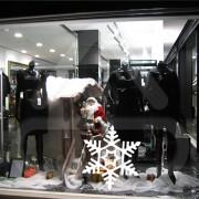 """Silhueta Vinil Autocolante Decorativo """"FLOCO DE NEVE"""" 00"""