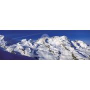 Painel Panorâmico Parede Neve Montanhas