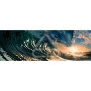 Painel Panorâmico Parede Onda de Mar
