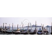 Painel Panorâmico Parede Gondolas em Veneza