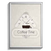 Poster Papel Coffee Time