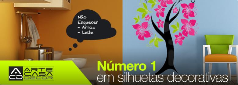 Nª 1 em silhuetas decorativas em Portugal
