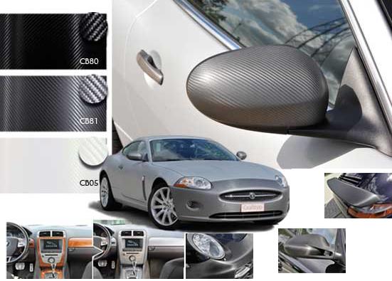 revestimento em vinil autocolante de carbono para interior ou exterior